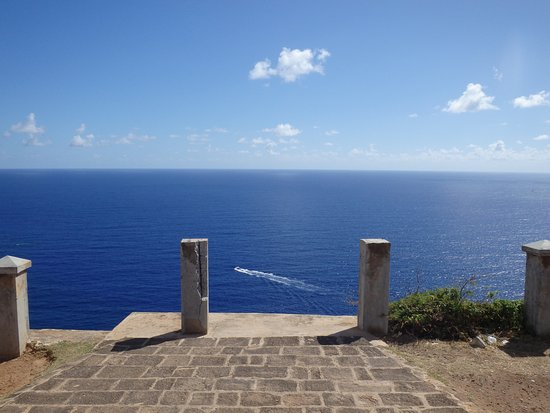 Englis Harbour, Antigua: Ocean view