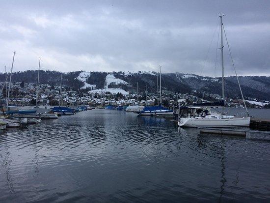 Winterstimmung am Zuger See, zug, Schweiz - 2