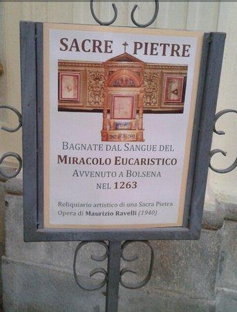 Bolsena, Italy: miracolo