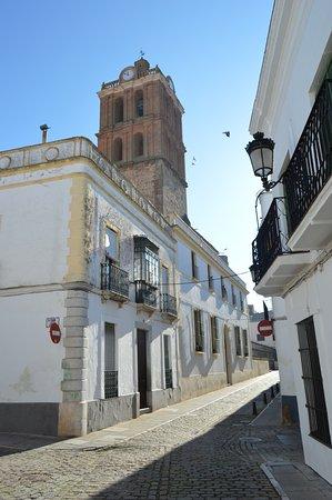 Zafra, Spagna: PARTE DE LA TORRE,VISTA DESDE LA CALLE TETUÁN