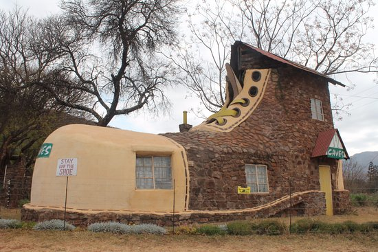 Roodepoort, แอฟริกาใต้: Big Shoe at Echo Caves en route to Hoedspruit