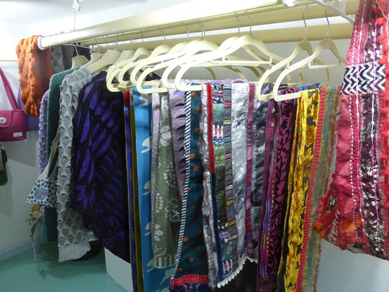 fabrics, woollens and other textiles at gallery48, Cromarty