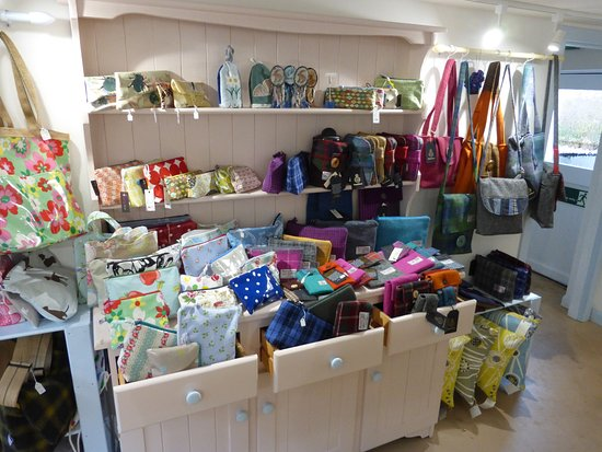 Lovely handbags, p[urses, satchels, tablen and phone covers at gallery48, Cromarty