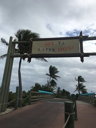 Castaway Cay: goodbye from the island