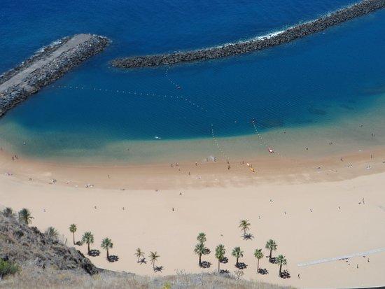 Playa de las Teresitas: Strand