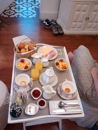 Hotel Boutique Quinta Miraflores: Delicious breakfast
