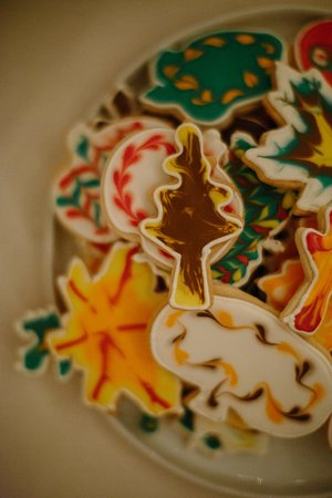 Livingston Manor, NY: Hand painted cookies
