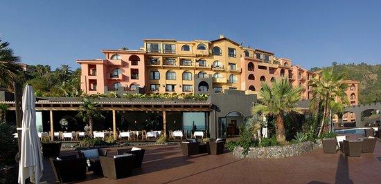 Santa Tecla, Italia: vista dell'hotel