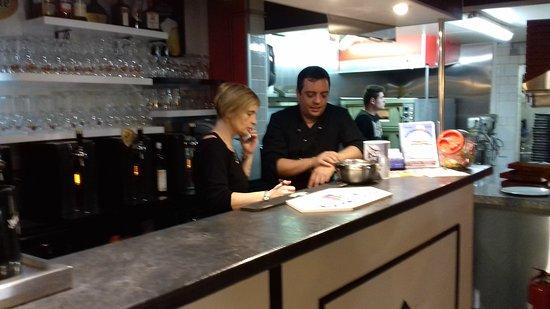Saint-Maixent-l'Ecole, Francja: pizzeria lLa Mama
