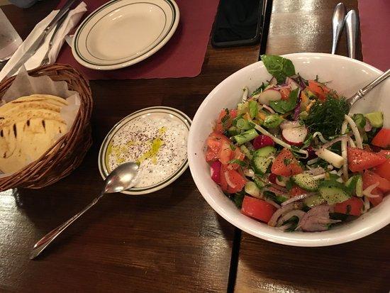 Fountain Valley, CA: fresh salad