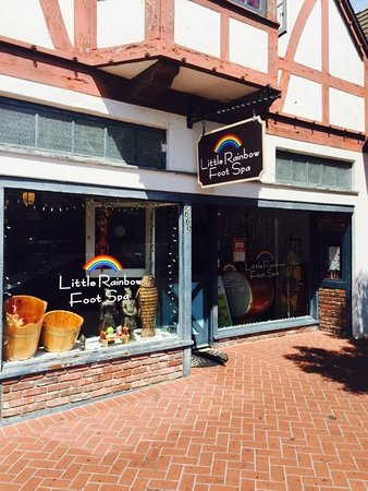 Solvang, CA: Little Rainbow Foot Spa