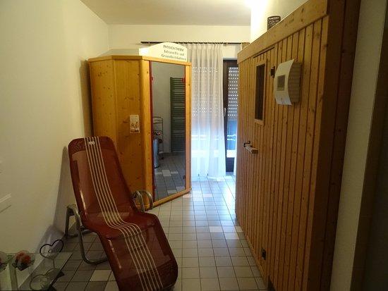 Bodenmais, Allemagne : Sauna- klein und fein