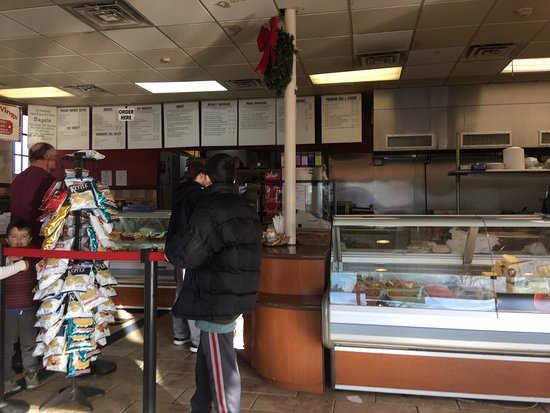 Pearl River, NY: The best bagel place around. Always fresh, usually warm even at 2:38pm now.