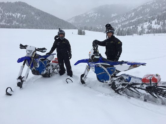 Logan, UT: Snow Bikes Beaver Creek Lodge Utah