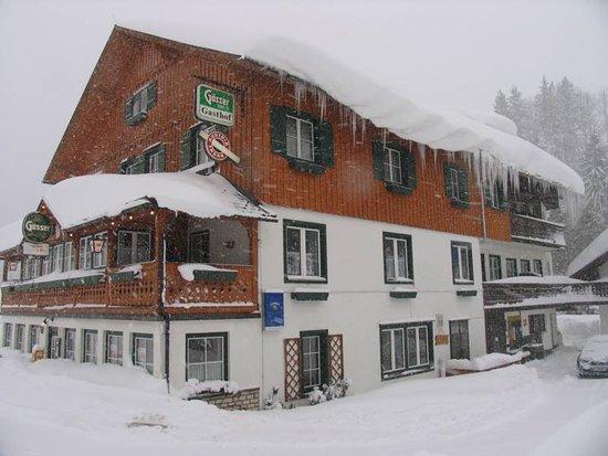 Gasthof Staud'nwirt : Unser Gasthof im Winter