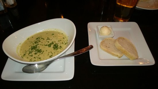 Georgetown, CA: Cream of Asparagus Soup