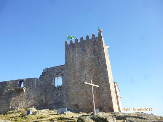 Belmonte, Portugal: Reparem na Bandeira do Brasil.