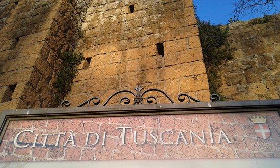 Tuscania, Italy: insegna