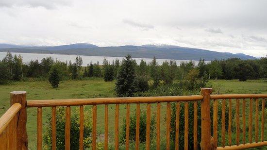 Hudson's Hope, Canada: Balkon