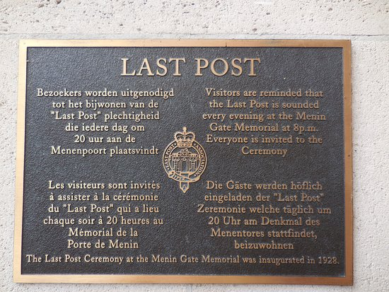 Ypres, Bélgica: Last Post.