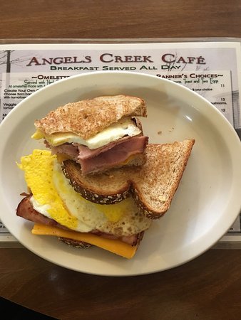 Angels Camp, CA: Angels Creek Cafe