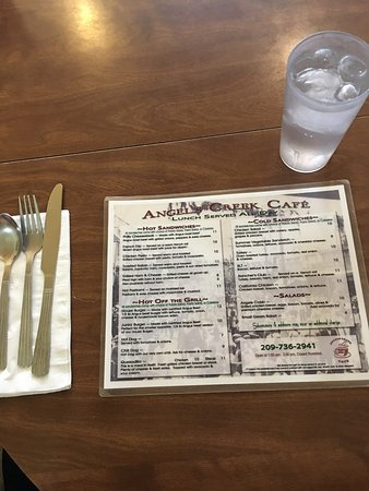 Angels Camp, Californien: Angels Creek Cafe