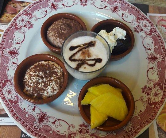 Gonesse, Francja: Café gourmand
