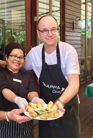 Rungis, Francja: Le Chef Pascal prend des cours de cuisine en Thaïlande !