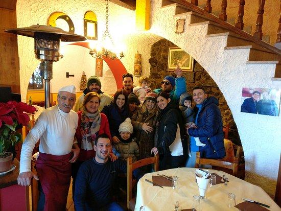 Zafferana Etnea, Italy: Pranzo in famiglia !
