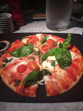 Gluten Free Romana Margherita Bufala With Chilli Flakes