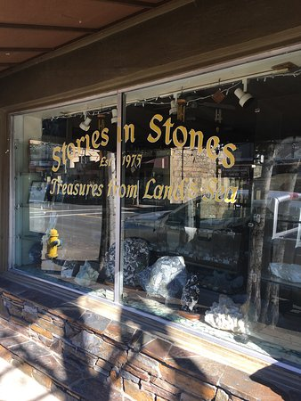 Angels Camp, Californien: Stories in Stones