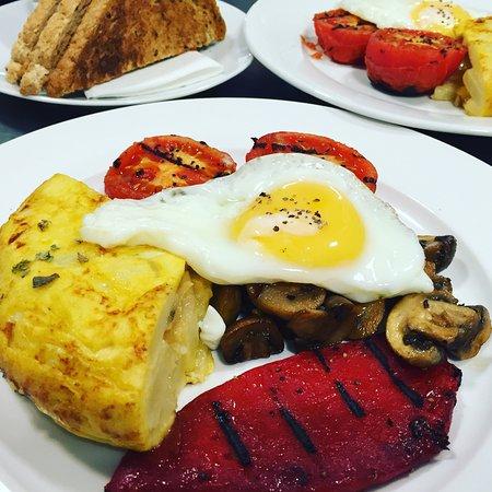 Newenden, UK: Veggie Breakfast