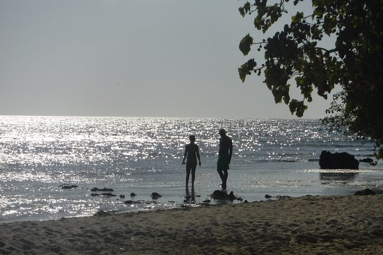 Sea Shell Charters: Hanging out on the beach.