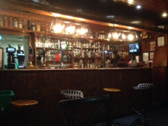 North Ballachulish, UK: Quirky bar area
