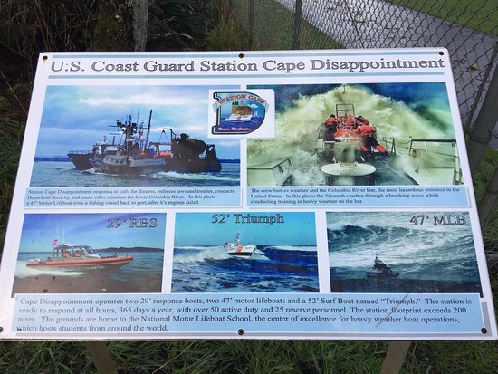 Ilwaco, Etat de Washington : Thank you for all that you do USCG Cape Disappointment