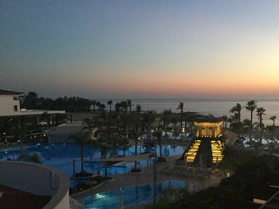 Olympic Lagoon Resort Paphos: Evening View