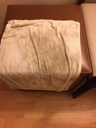 Studio 6 Jacksonville - Baymeadows: Wet towel to clean up floor