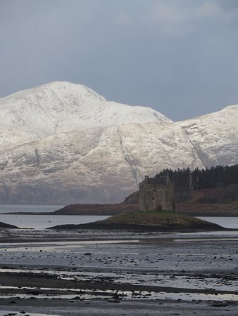Appin, UK: Castle in a stunning location