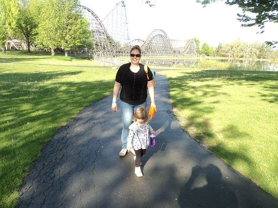 Darien Center, État de New York : Darien Lake Amusment and Water Park Campground