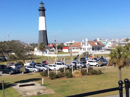 Tybee Island Lighthouse Museum: This is from the top of the museum.