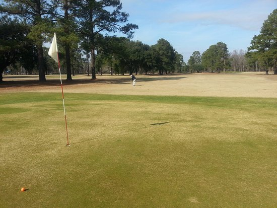 Hope Mills, Caroline du Nord : Municipal golf course of Dillon SC AKA Crystal Lakes