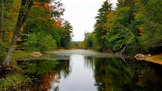 Nottingham, NH: Gorgeous fall colors, amazing camping!