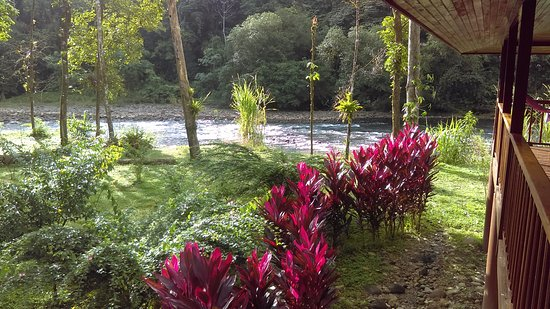 Sarapiqui, Costa Rica: view to the river