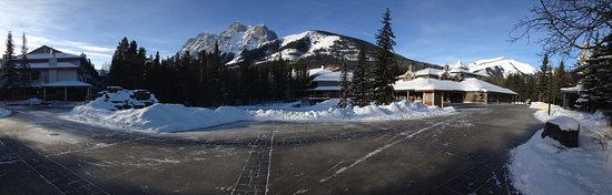 Pano of Kananaskis Village  Picture of Delta Hotels by Marriott