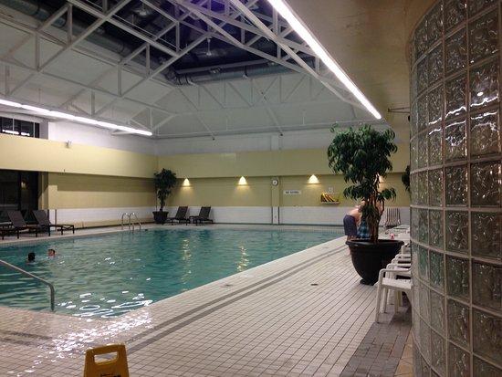 Indoor pool  Picture of Delta Hotels by Marriott Kananaskis Lodge