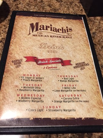 Mariachis Mexican Restaurant: Good Mexican food in Lancaster. I suggest trying the Steak Quesadilla.