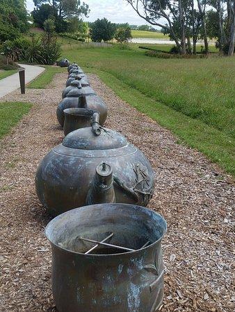 Hamilton, Nueva Zelanda: Row of Teapots