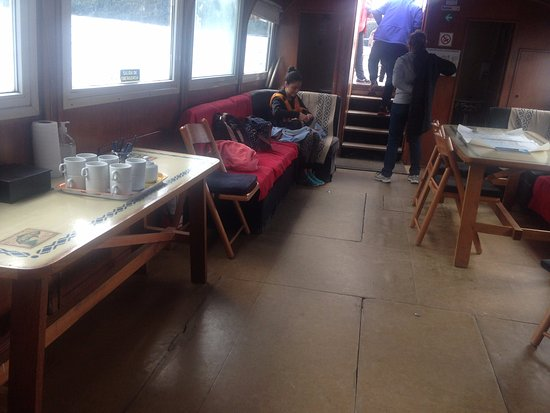 Província Rio Negro, Argentina: Interior del barco