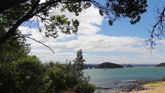 Paihia, New Zealand: View of the bay
