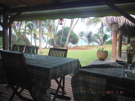 Sainte Marie, Martinique: Nous venons de passer un agréable déjeuner au restaurant le point de vue et avons pris du chatro